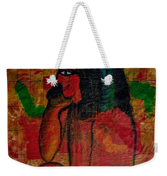 Isis, Egyption Queen Of Earth Weekender Tote Bag
