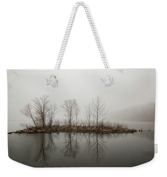 Island In The Fog Weekender Tote Bag