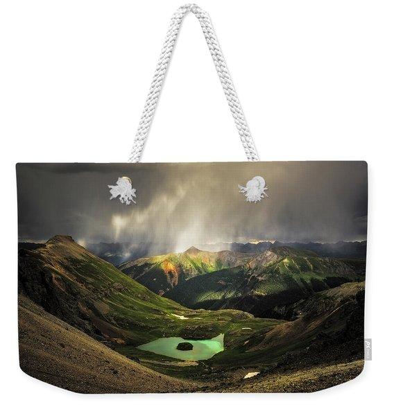 Island Lake Weekender Tote Bag