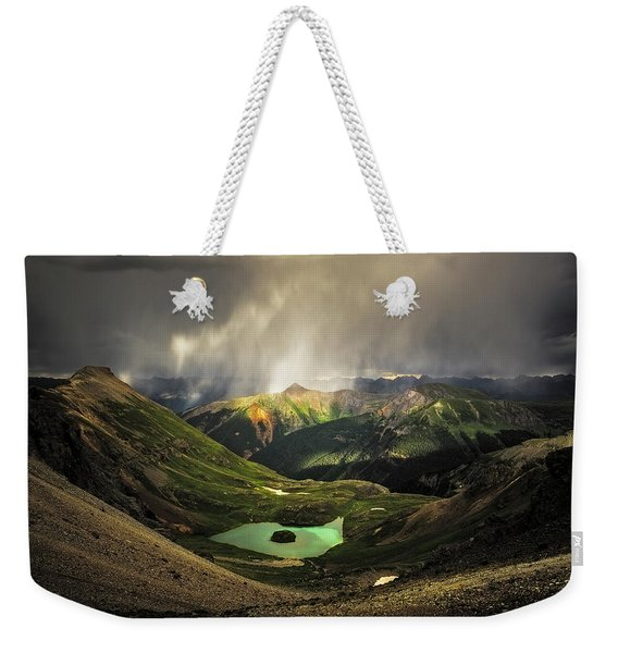 Island Lake Weekender Tote Bag