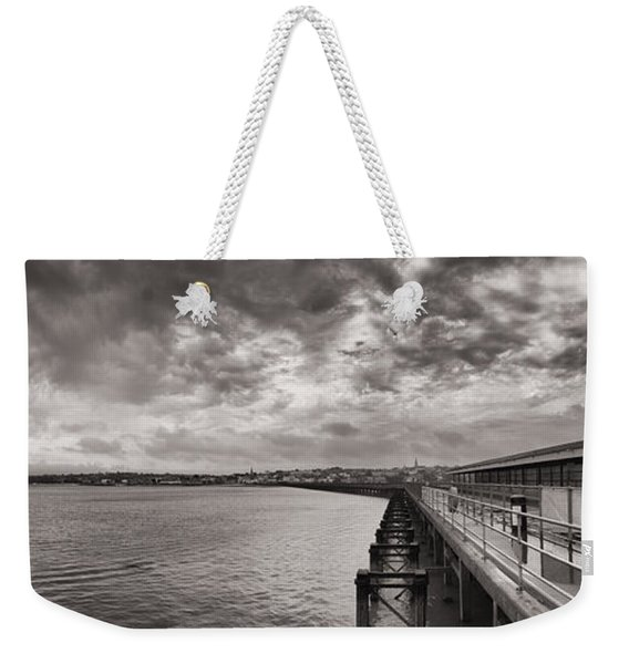 Weekender Tote Bag featuring the photograph Island Panorama - Ryde by Clayton Bastiani