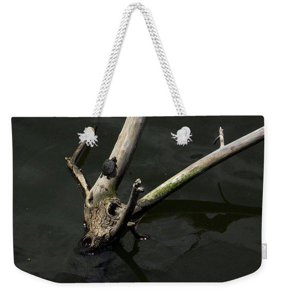 Island Sanctuary Weekender Tote Bag