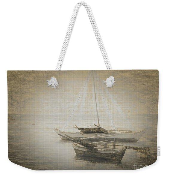 Island Sketches V Weekender Tote Bag