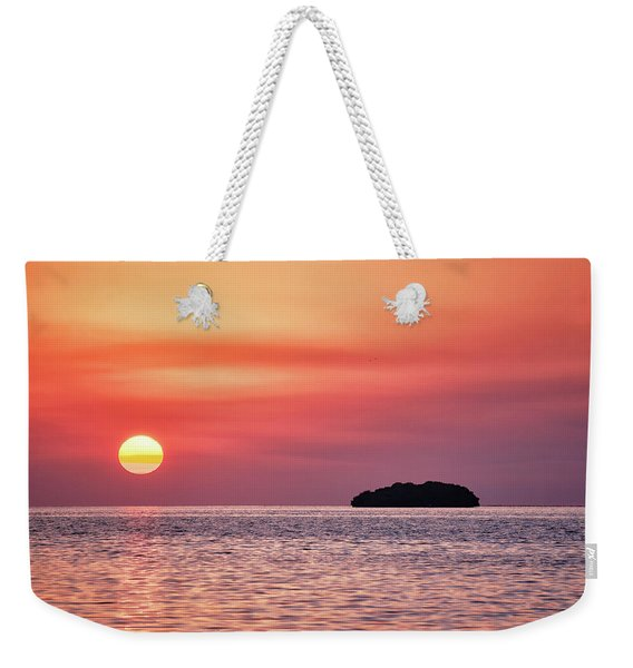 Island Sunset Weekender Tote Bag