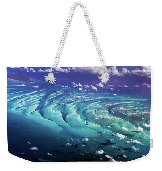 Island Under The Sea Weekender Tote Bag