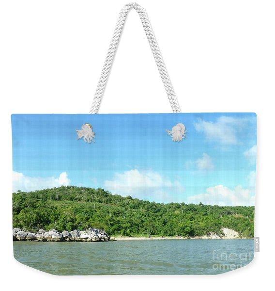 Island View 3 Weekender Tote Bag