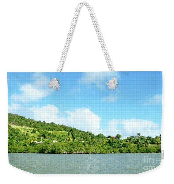 Island View Weekender Tote Bag