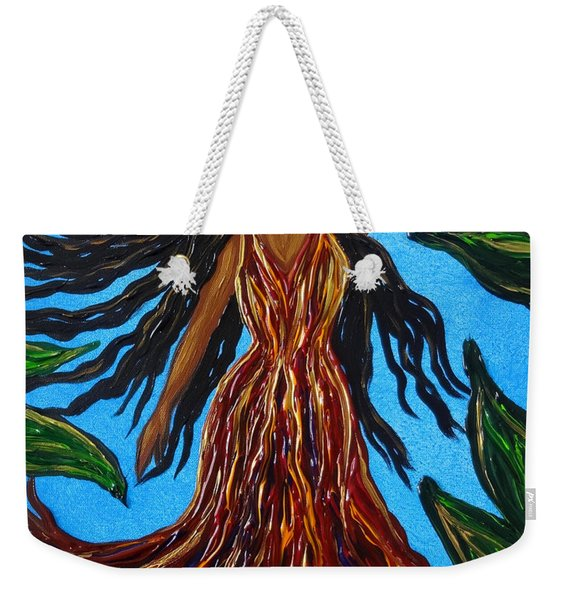 Island Woman Weekender Tote Bag