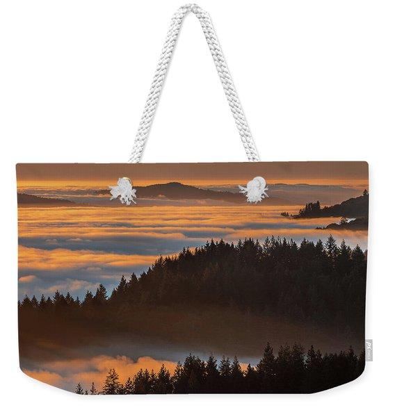Islands In The Fog  Weekender Tote Bag