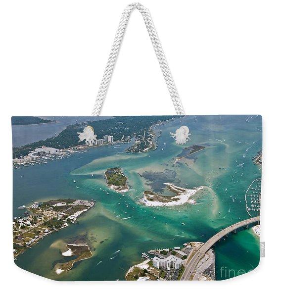 Islands Of Perdido - Not Labeled Weekender Tote Bag
