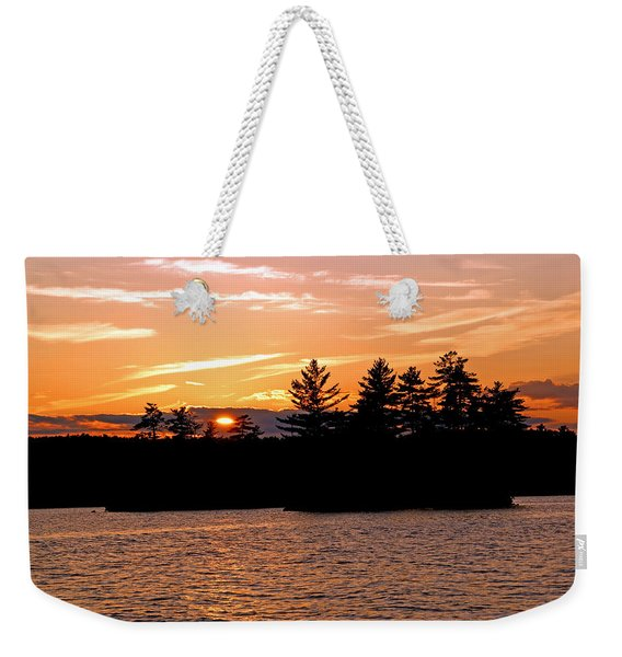 Islands Of Tranquility Weekender Tote Bag