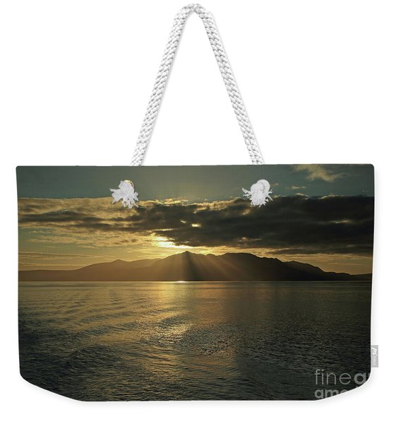 Isle Of Arran At Sunset Weekender Tote Bag