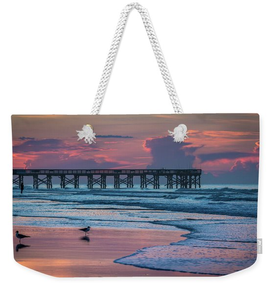 Isle Of Palms Morning Weekender Tote Bag