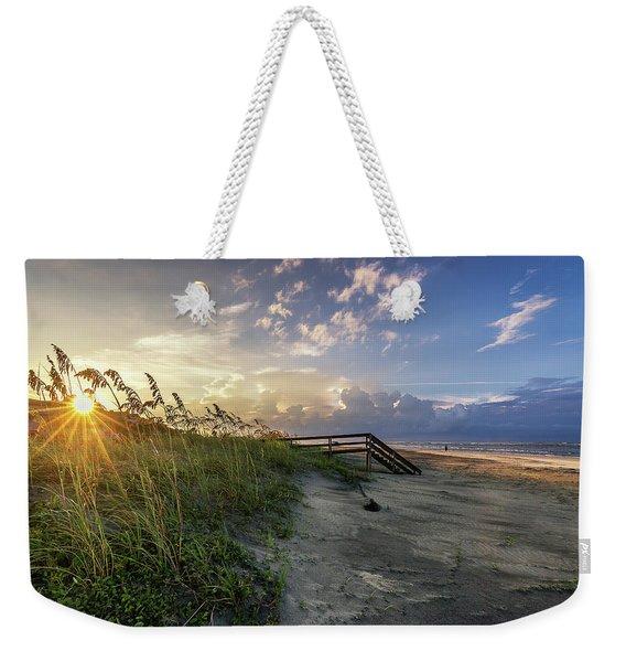 Isle Of Palms Sunstar Weekender Tote Bag