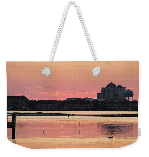 Isle Of Wight Dawn Weekender Tote Bag