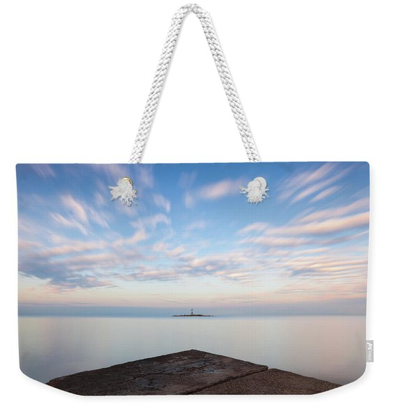Islet Baraban With Lighthouse Weekender Tote Bag