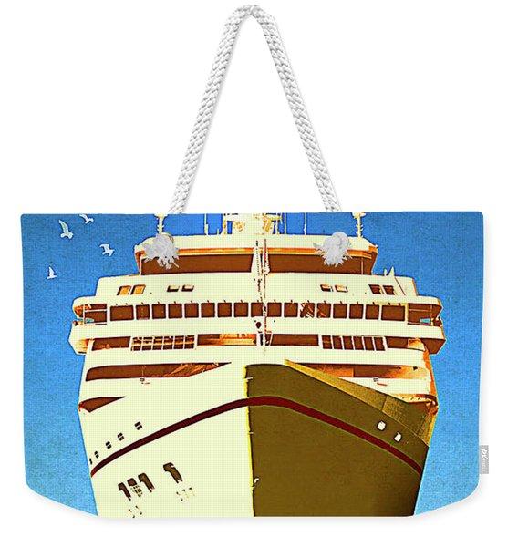 Istanbul Cruise, Turkey Weekender Tote Bag