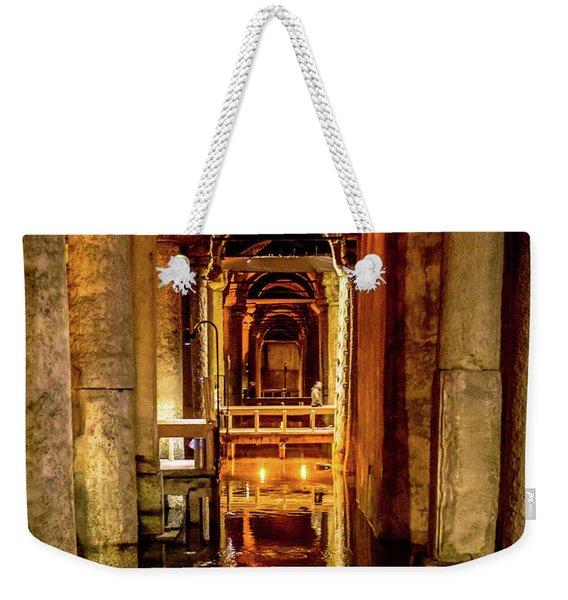 Istanbul Underground Cistern 2 Weekender Tote Bag