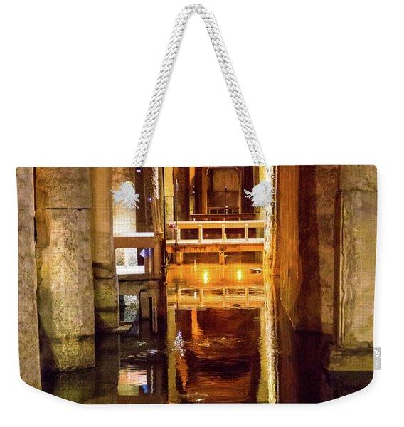Istanbul Underground Cistern 3 Weekender Tote Bag