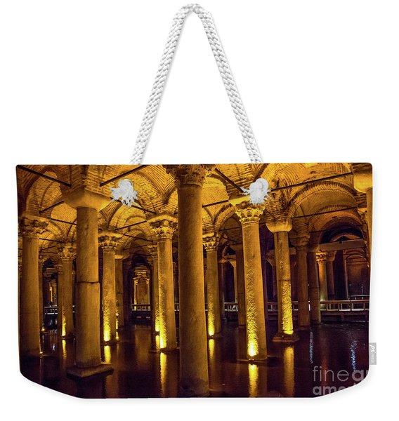 Istanbul Underground Cistern 4 Weekender Tote Bag