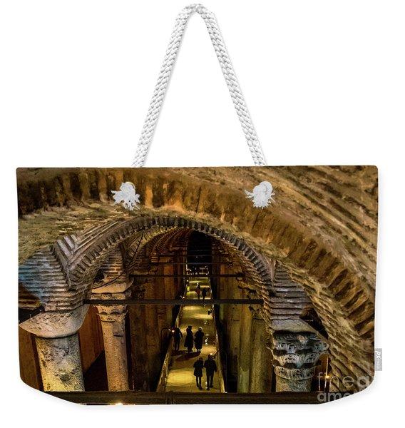 Istanbul Underground Cistern Weekender Tote Bag