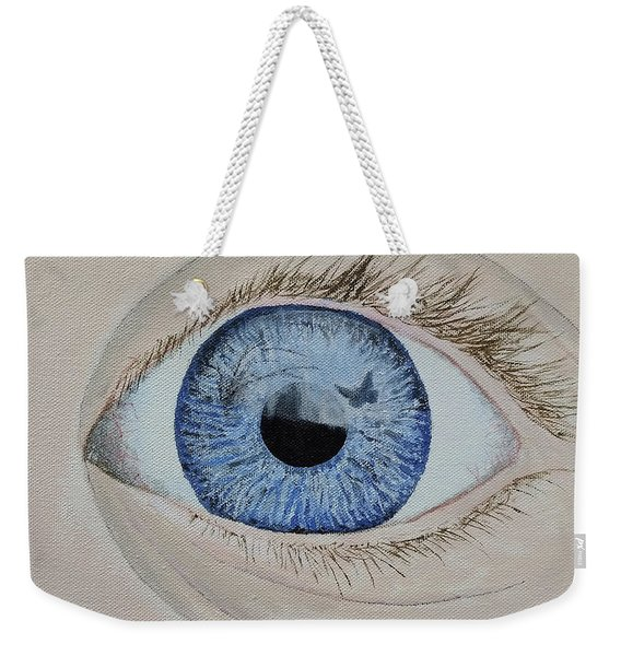 Weekender Tote Bag featuring the painting ...it Begins by Kevin Daly