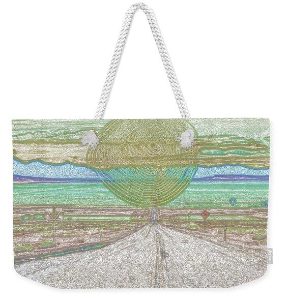 It Comes Weekender Tote Bag