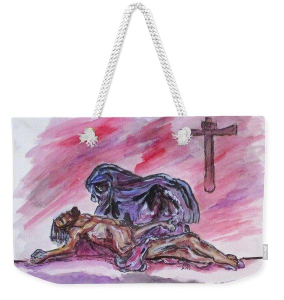 It Is Done Weekender Tote Bag