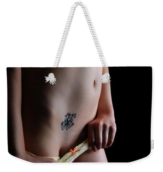 It Is Now Or Never Weekender Tote Bag
