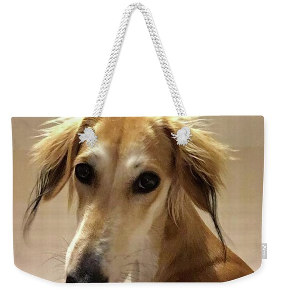 It Looks Like It Will Be A Bad Hair Day Weekender Tote Bag