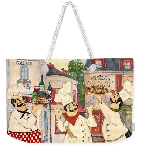 Italian Chefs-jp3042 Weekender Tote Bag