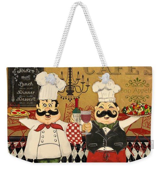 Italian Chefs-jp3045 Weekender Tote Bag
