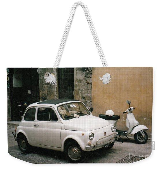 Italian Classic Commute  Weekender Tote Bag