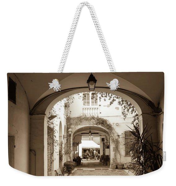 Italian Courtyard  Weekender Tote Bag