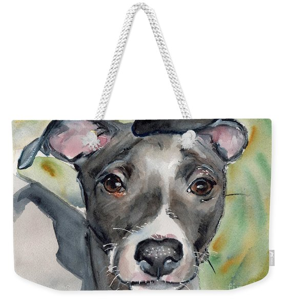 Italian Greyhound Watercolor Weekender Tote Bag