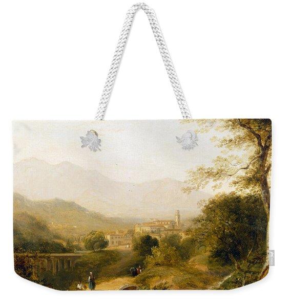 Italian Landscape Weekender Tote Bag