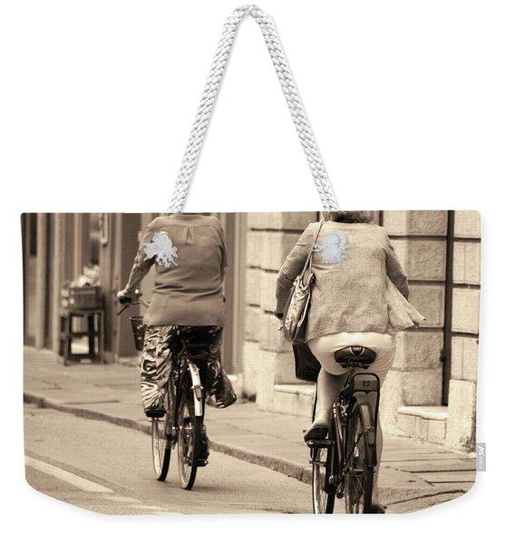 Italian Lifestyle Weekender Tote Bag