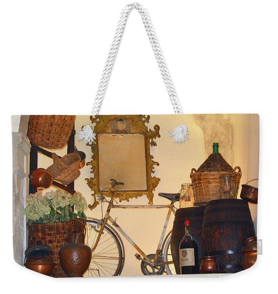 Italian Osteria Weekender Tote Bag