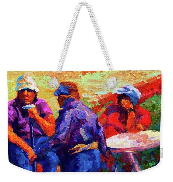Italian Retirement Weekender Tote Bag