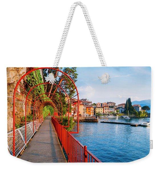 Italian Walk Of Love  Weekender Tote Bag