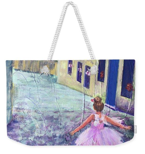 Italian Wedding Weekender Tote Bag
