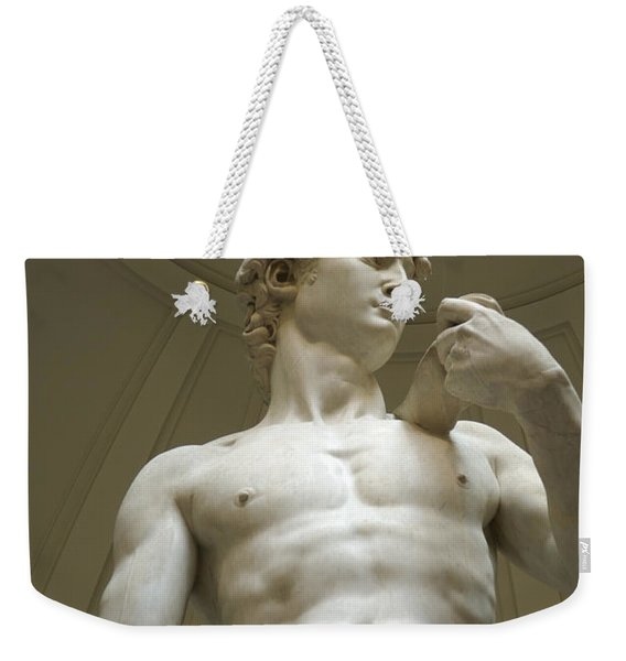 Italy, Florence, Statue Of David Weekender Tote Bag