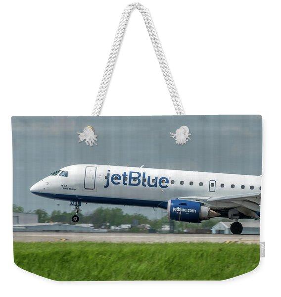 It's A Blue Thing Weekender Tote Bag