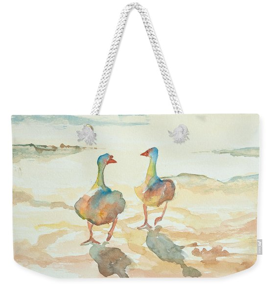 It's A Ducky Day Weekender Tote Bag