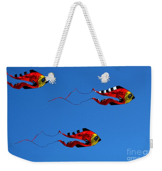 It's A Kite Kind Of Day Weekender Tote Bag