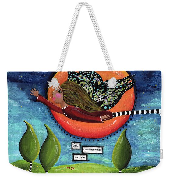 It's A Magical Whimsical Life Weekender Tote Bag
