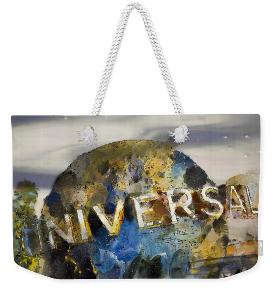 It's A Universal Kind Of Day Weekender Tote Bag