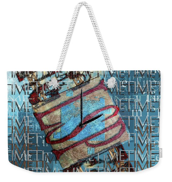 Its All About Time Weekender Tote Bag