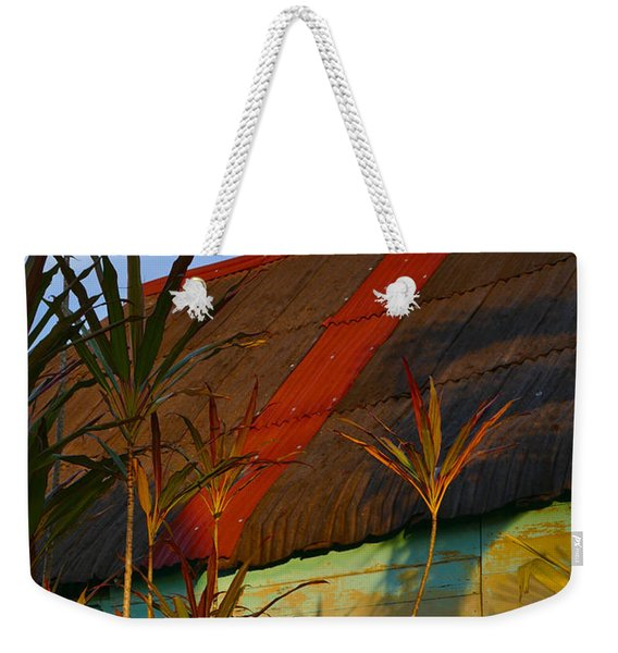 Weekender Tote Bag featuring the photograph It's My Party by Skip Hunt