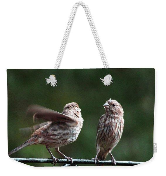 It's My Turn Weekender Tote Bag